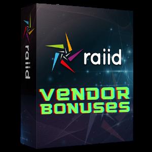 Raiid Vendor Bonuses