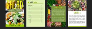 ecover guru collection Salad ebook layout