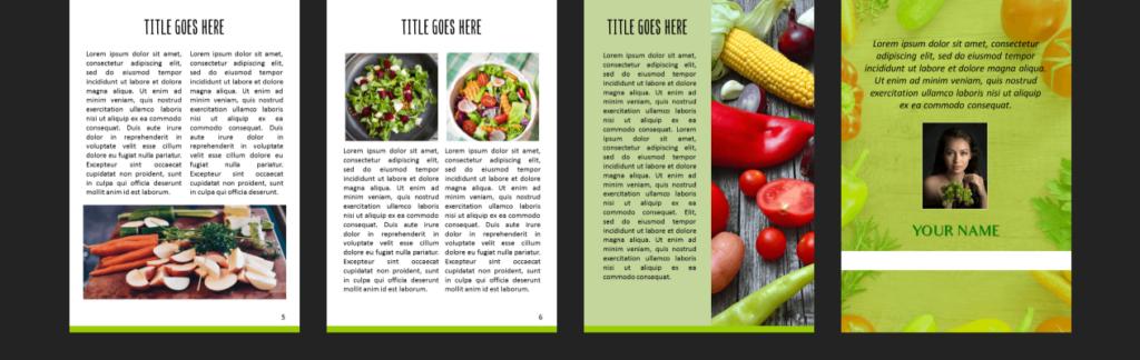 ecover guru Salad ebook layout 2