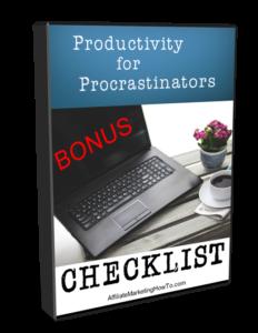 Productivity for Procrastinators Bonus