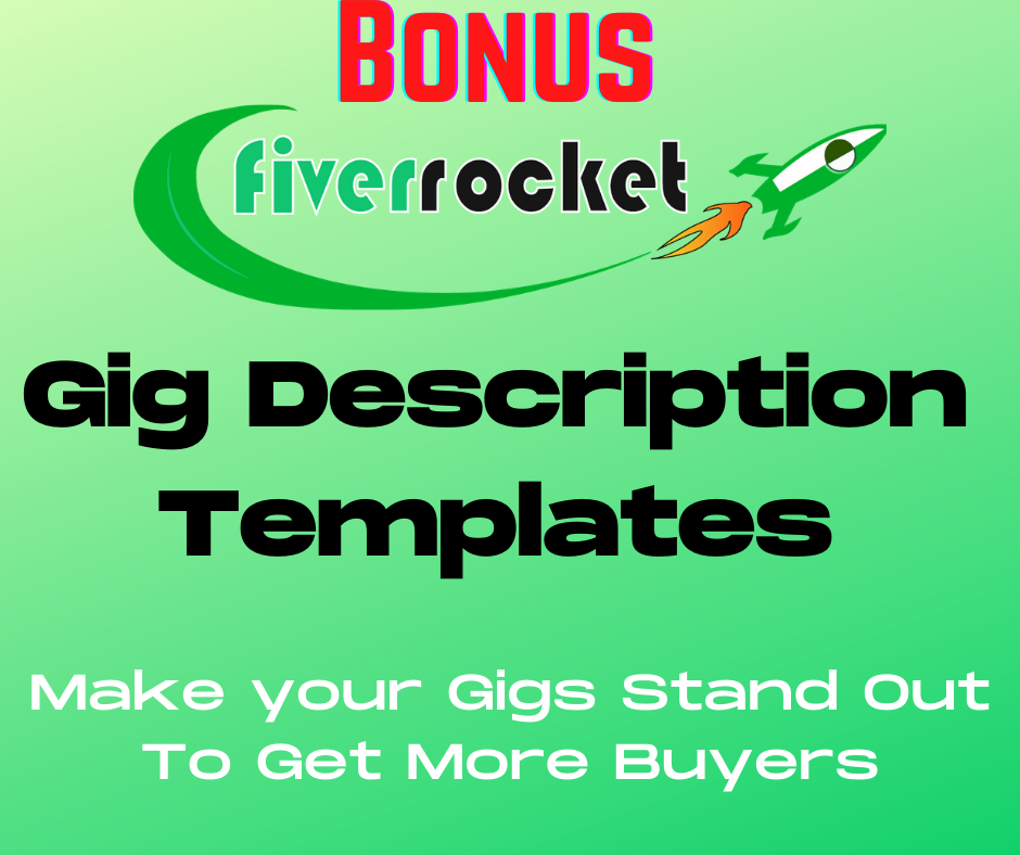 Fiverr Gig Description Bonus